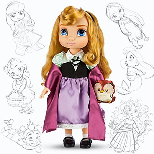 Briar Beauty Costume Amazon (Disney Animators' Collection Aurora Doll with Owl - 16'')