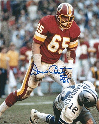 (Autographed Dave Butz 8x10 Washington Redskins Photo. )