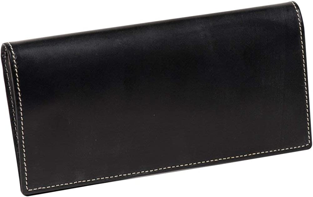 BRITISH GREEN ブライドルレザー長財布 の外装