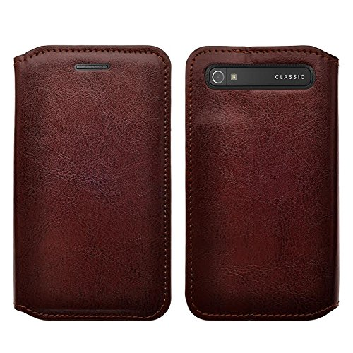 Classic Book Cover Up : Blackberry classic case magnetic leather folio flip book