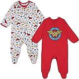 Warner Bros. Wonder Woman Baby Girls 2 Pack Sleep