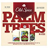 Old Spice Fiji Antiperspirant and Deodorant + Body Wash + Spray Gift Pack Review