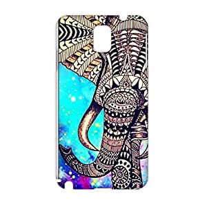 Evil-Store Beautiful flowers elephant 3D Phone Case for Samsung Galaxy Note3