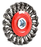 Forney 72759 4-Inch x .020 x 5/8-11 Knot Wire Wheel