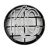 """KC Hilites 7216 Apollo Black 6"""" ABS Stone Guard"""