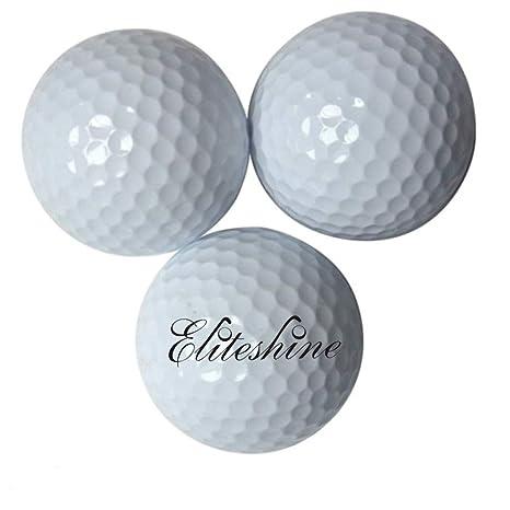 15 piezas Hangerworld EliteShine flotante bolas de Golf pelotas de ...