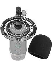 YOUSHARES Blue Yeti X, shock-standaard, microfoon, shockmount vermindert trillingen en Shock Noise Matching Boom, standaard voor microfoon.