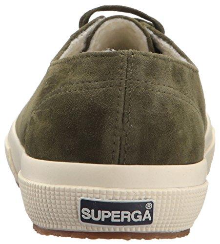Superga Womens 2750 Kidsuew Mode Sneaker Militär