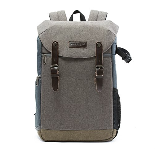 BAGSMART Camera Backpack with 15.6 Inch Laptop Compartment a