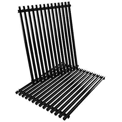 """XHome 17"""" Grill Grate 17 inch Cooking Grid Replacement for Nexgrill 720-0830H, 720-0341, Kenmore 122.16119, Uniflame GBC981W, Porcelain Steel Cooking Grate Replacement Parts(2 Pack, 17"""" x 13 1/4"""")"""