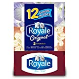 Royale Facial Tissue, 2-ply, 100 Sheets Per Box, 12 Pack