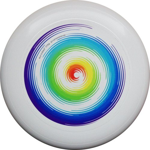 Eurodisc 175g not Discraft Ultimate Frisbee Competition Disc design RAINBOW special scratch resistant Foto-UV print by New Games - Frisbeesport