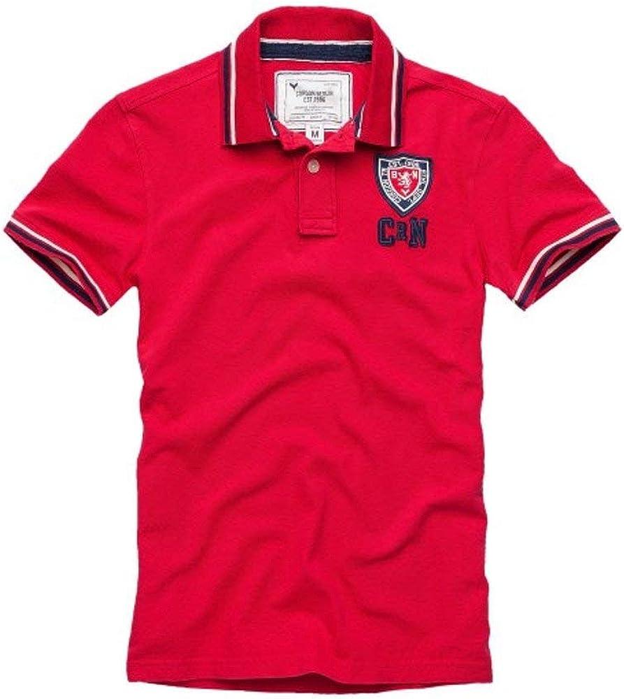 Cordon Berlin Sport Polo Hombre Camiseta Brian Camisa Polo Rojo ...