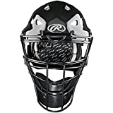 Baseball Catcher's CoolFlo Hockey Style Mask, Youth & Adult Size (Meets NOCSAE, Little League & Travel Ball Helmet Standards)