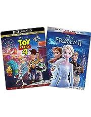 Frozen 2 / Toy Story 4 Blu Ray 4k