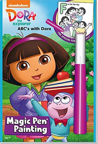 Dora the Explorer Magic Pen Painting - ABC's with Dora (Dora The Explorer Abc Game)