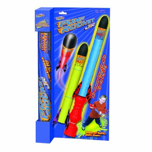 Geospace Pump Rocket (Geospace Pump Rocket Jr. Boxed Set with 2 Rockets)
