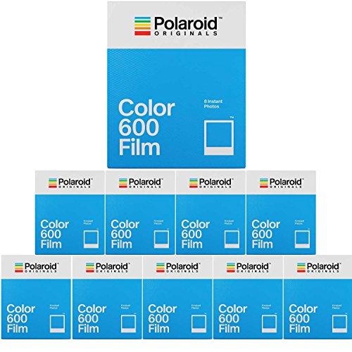 Polaroid Originals Instant Classic Color Film for 600 Camera