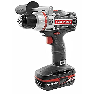Craftsman C3 Brushless Drill/Driver with 19.2V Battery and Charger