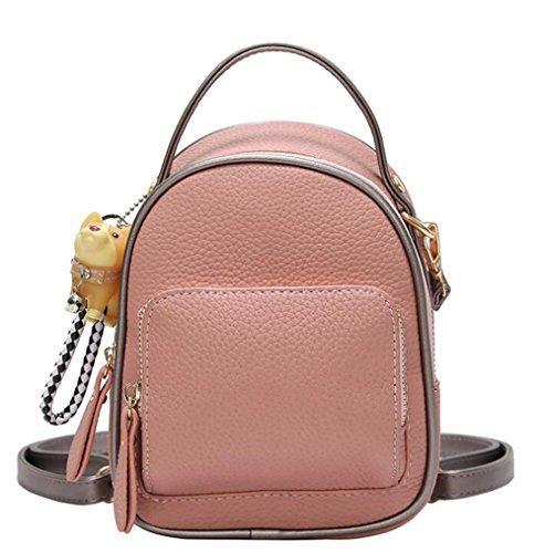 en Sac dos sac décontracté 16 de souple main cuir PU multifonctionnel femmes 20cm 11 sac à à de mode xgwfRgn0q