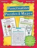 Punctuation Puzzles and Mazes, Jim Halverson, 0439051886