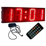 "6"" Giant Countdown Timer Sport Timing Race Clock Count Down/Up In Minutes Seconds"