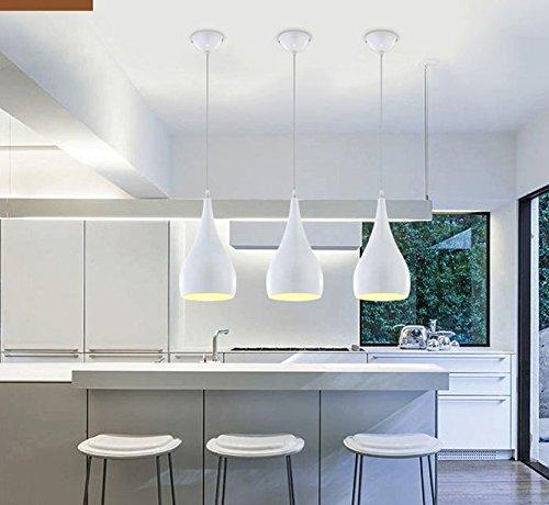 Modern Simplicity Küchen Pendelleuchte Loft Metall Optik ...