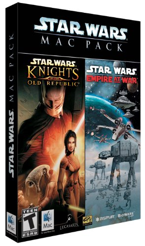 Star Wars Mac Pack: Knights of the Old Republic / Empire at War