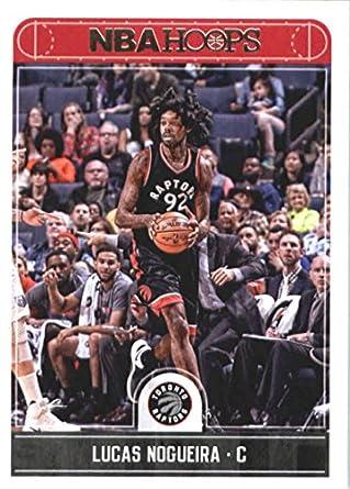 3da2637f39d Amazon.com  2017-18 Panini Hoops  181 Lucas Nogueira Toronto Raptors  Basketball Card  Collectibles   Fine Art