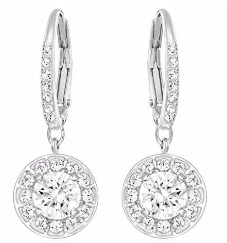 Swarovski Crystal Attract Light Pierced Earrings by SWAROVSKI