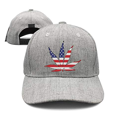 - Panbaba American Flag Pot Leaf Marijuana Freedom Unisex Adjustable Baseball Hat Travel Sunscreen Cap Outdoors