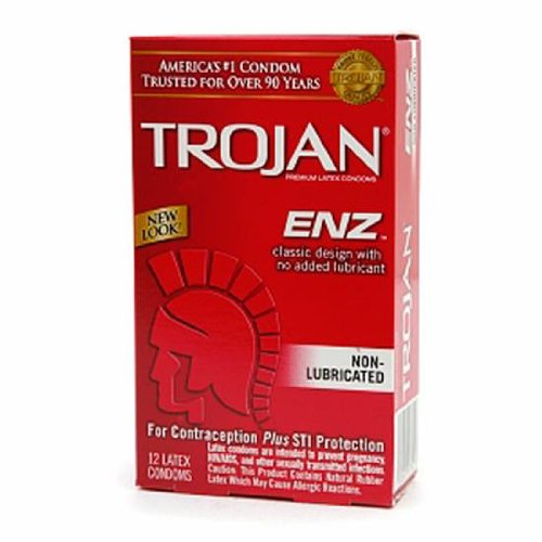 Trojan Enz Non-Lubricated 12 Pack (Package Of 7)