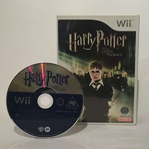 Wii - Harry Potter: Order of the Phoenix: Amazon.es: Videojuegos
