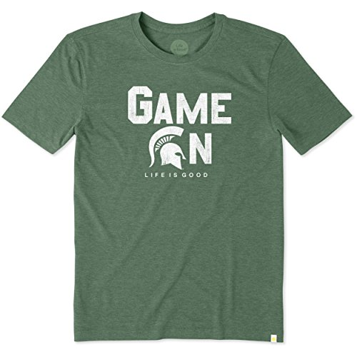 Mens Cool Tee Michigan State Game On Bold