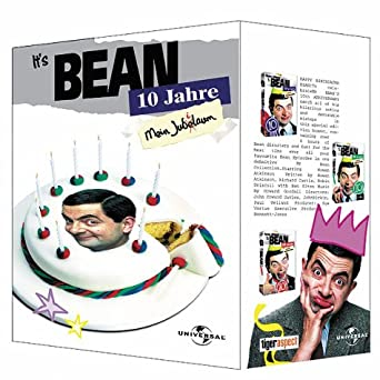 Mr Bean Edition Zum 10 Jubiläums Box Set Vhs Rowan Atkinson