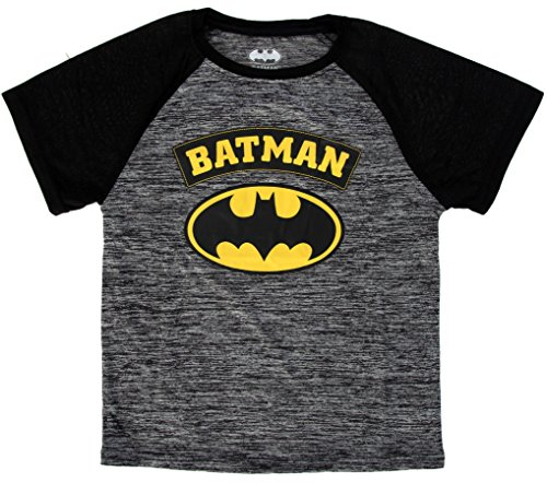 DC Comics Boy's Batman Superhero Logo T-Shirt Batman 7