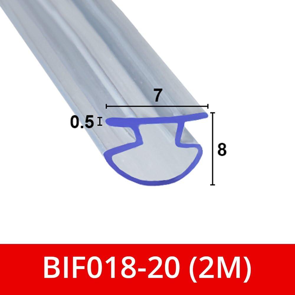 Sello de ducha de goma suave y flexible para puertas plegables Bi ...