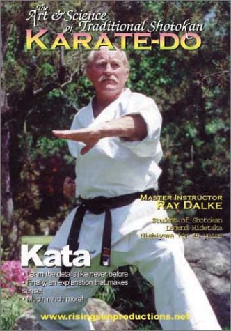 Shotokan karate's Ray Dalke Kata - d