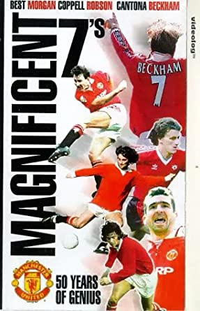 99afc1669 Manchester United  Magnificent 7 s - 50 Years Of Genius...  VHS ...