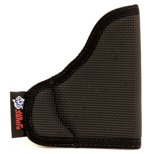 DESANTIS The Nemesis Pocket Holster Ambidextrous Black P32/P3AT/LCP w/CT LG Nylon N38BJG5Z0