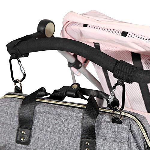 YIDAINLINE 2 St/ück Kinderwagenhaken Universal Kinderwagenhaken Zubeh/ör Regenschirm Auto Kletthaken