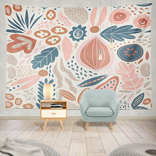 Collection Exotica (ONELZ Decor Collection, Modern Exotic Jungle Fruits and Plants Bedroom Living Room Dorm Wall Hanging Tapestry 60