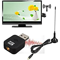 Mini DVB-T USB 2.0 Digital TV HDTV Stick Tuner Recorder Receiver With Remote Control