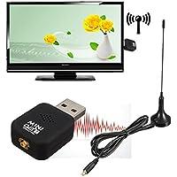 Mini DVB-T USB 2.0 Digital TV HDTV Stick Tuner Recorder Receiver With Remote Control