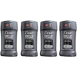 Dove Men+Care Antiperspirant Stick, Invisible 2.7 oz, 4 Count