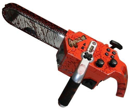 PS2 Resident Evil 4 Chainsaw Controller
