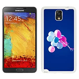 Flying Balloons In Blue Sky (2) Hard Plastic Samsung Galaxy Note 3 Protective Phone Case