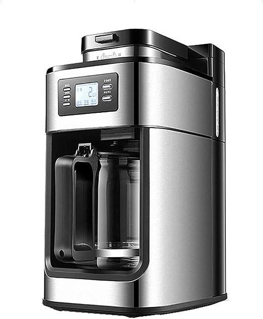 ZGZXD Molinillo de Frijoles automático Cafeteras de Goteo, Máquina de café de Goteo doméstica Cafetera, Máquina de café American Express: Amazon.es: Hogar