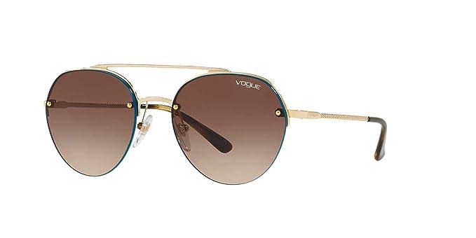 Vogue 0VO4113S, Gafas de Sol para Mujer, Pale Gold, 54: Amazon.es: Ropa y accesorios