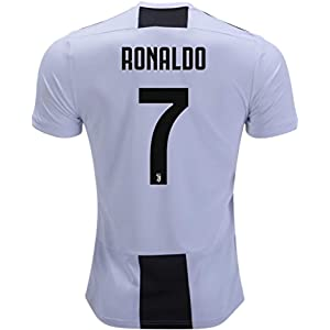 Marjorong New Juventus Stadium 2018 2019 7 Ronaldo Home Jersey Mens White f4112524e